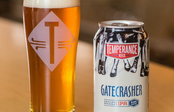 Gatecrasher canned beer