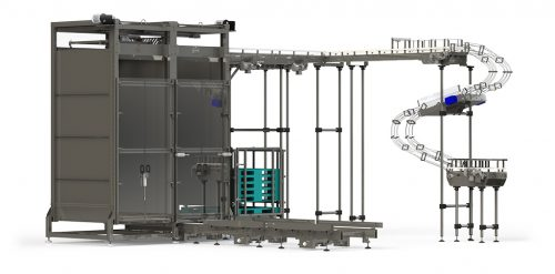 Auto-Depalletizer Front ISO